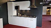 Mat witte rechte keuken Kendra (149)