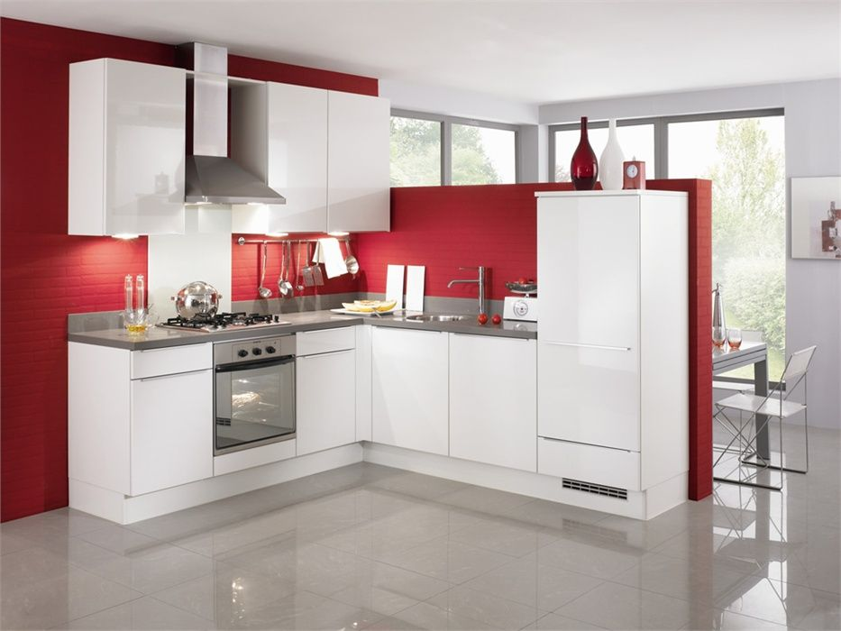 Keuken Hoogglans Wit Achterwand : keukens voor zeer lage keuken prijzen Nobilia Uno Wit Hoogglans