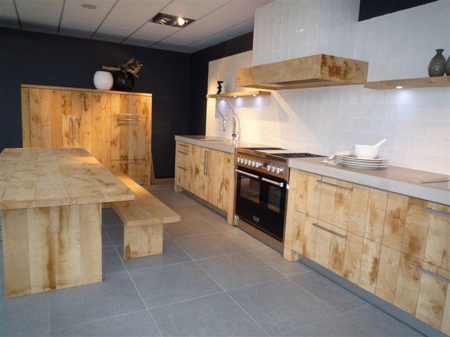 Keukens Ruw Hout : Showroomkeukens Alle Showroomkeuken aanbiedingen uit