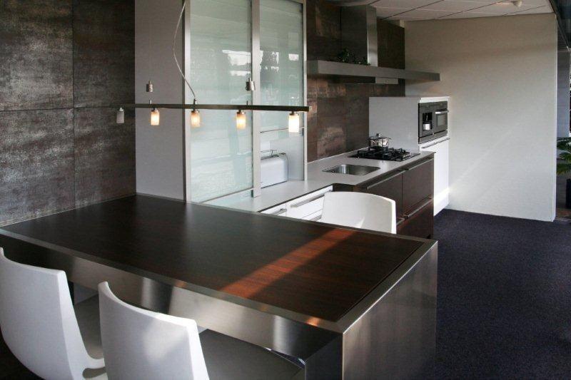 Showroomkeukens alle showroomkeuken aanbiedingen uit nederland keukens voor zeer lage keuken - Deco keuken grise ...
