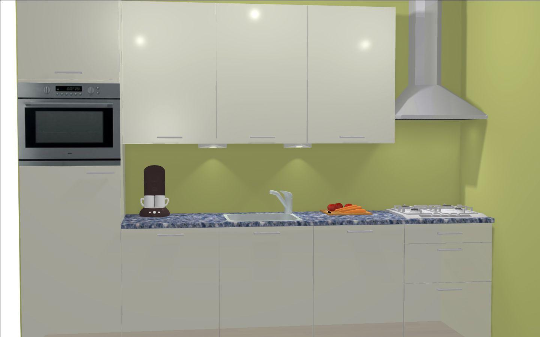 Magnolia Kleur Keuken : Magnolia keuken kleur muur. Keukenkast ...