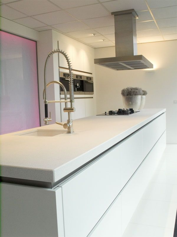 Keuken Wit Mat : keukens voor zeer lage keuken prijzen Zeyko horizon mat wit [26327