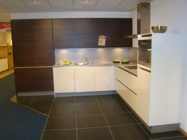 Moderne notenhouten ondiepe kasten beste inspiratie voor huis ontwerp - Moderne keuken deco keuken ...