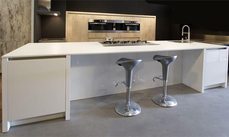 Keuken wit hout wit houten blad keuken wit hout keuken keuken hout en witte - Keuken wit hout ...