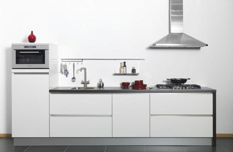 Greeploze Keuken Hoogglans Wit : ... keukens voor zeer lage keuken ...