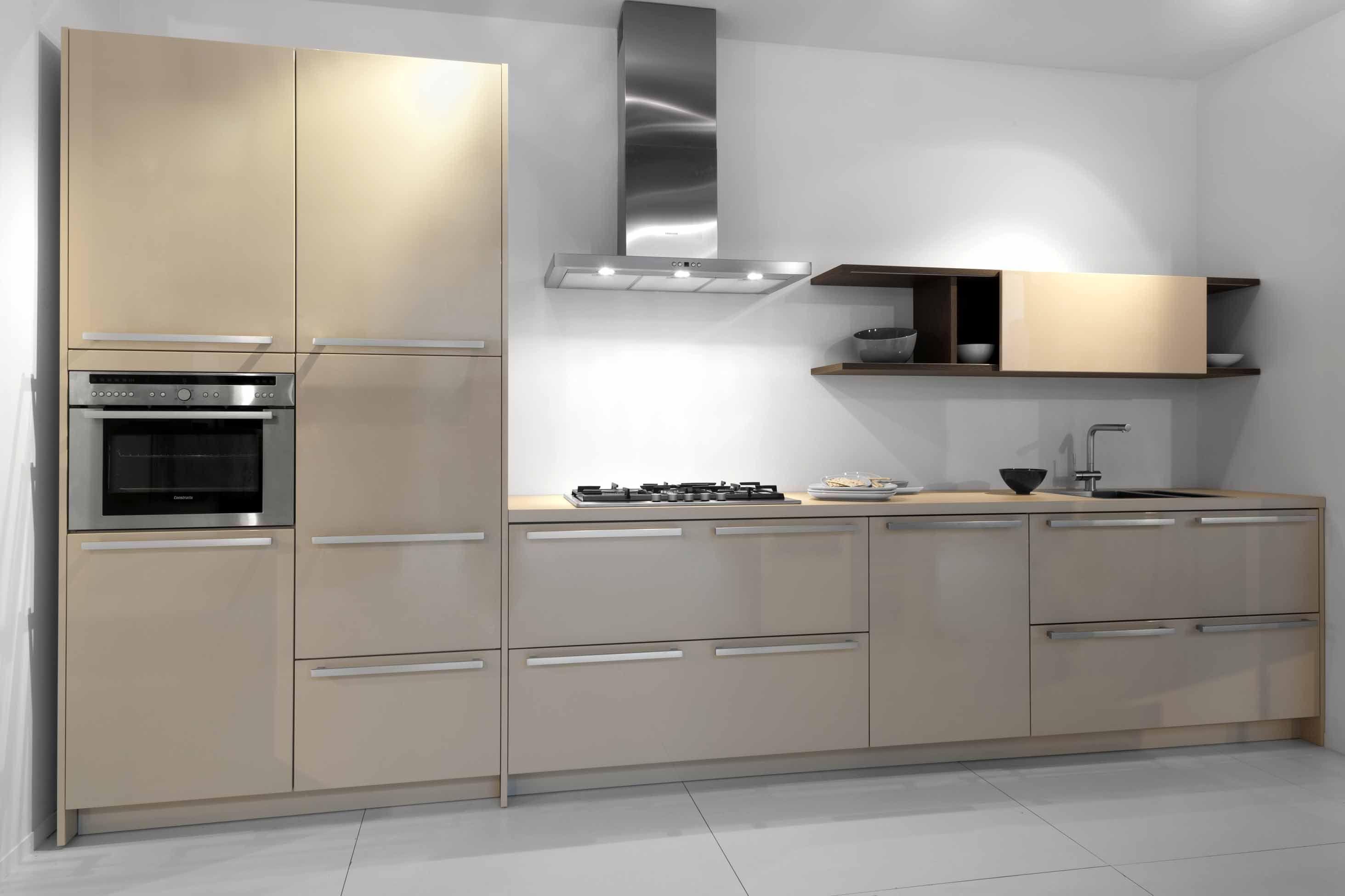 ... keukens voor zeer lage keuken prijzen  Rechte keuken Glans (19