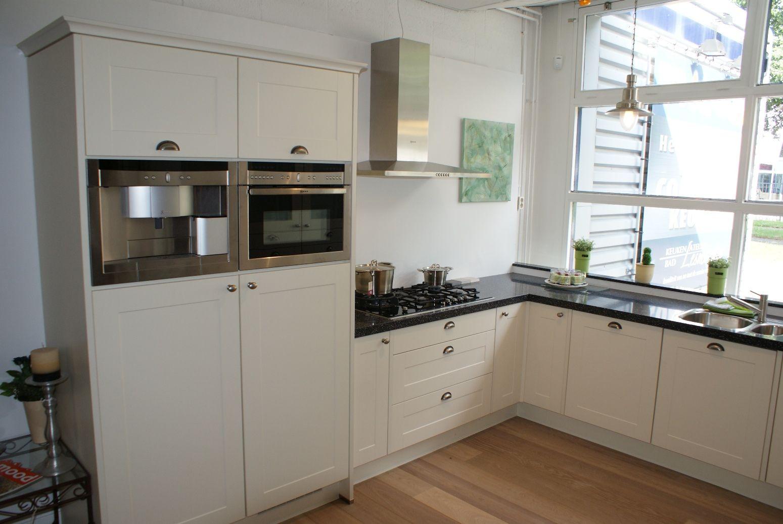 ... keukens voor zeer lage keuken prijzen : Breed kader Vanille [26648