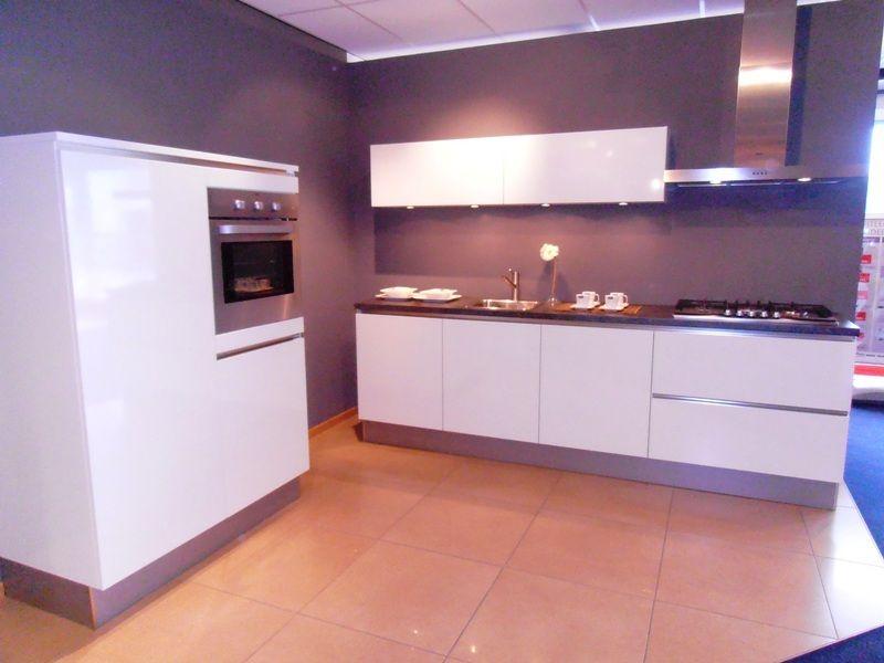 hoogglans witte keuken  consenza for ., Meubels Ideeën