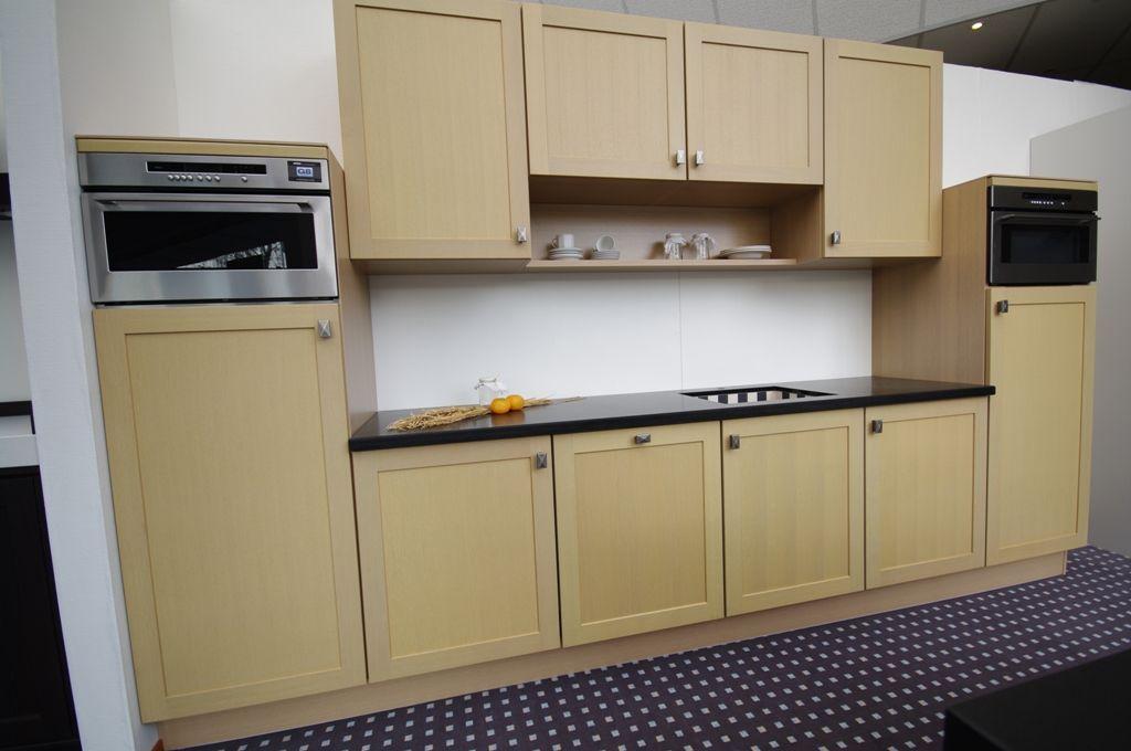 Keuken Recht 360 Cm : keukens voor zeer lage keuken prijzen Quintet eiken opaal [43300