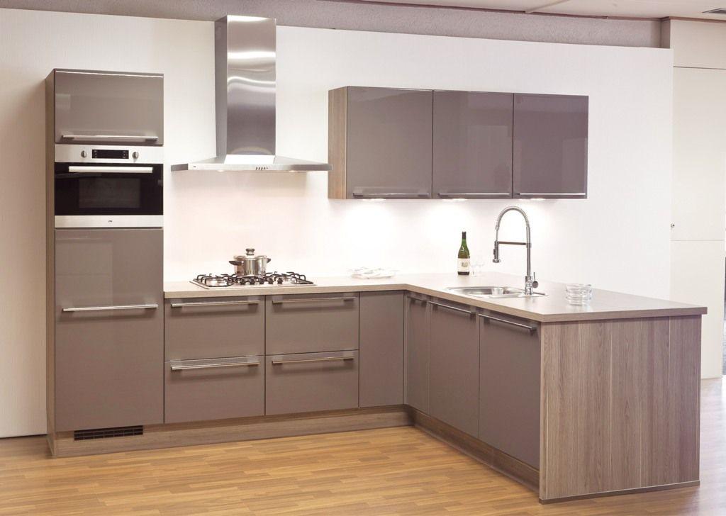 Afmeting Schiereiland Keuken : Nederland keukens voor zeer lage keuken prijzen Lux magma HG [43281