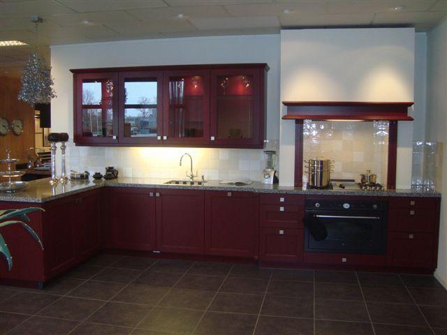 Rode Keuken Tegels : keukens voor zeer lage keuken prijzen Rode keuken 7 [47072