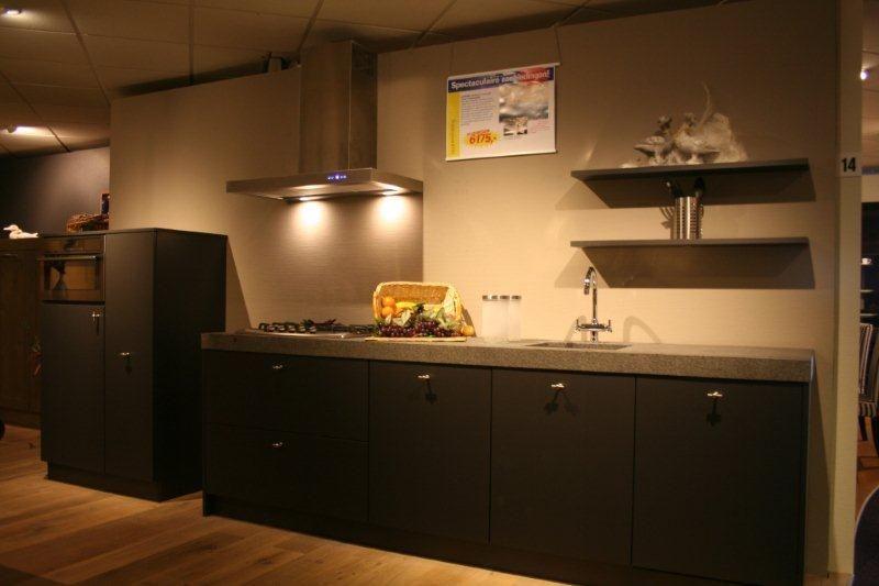 Antraciet Grijze Keuken : Antraciet Grijze Keuken : keuken complete keukens op moderne antraciet