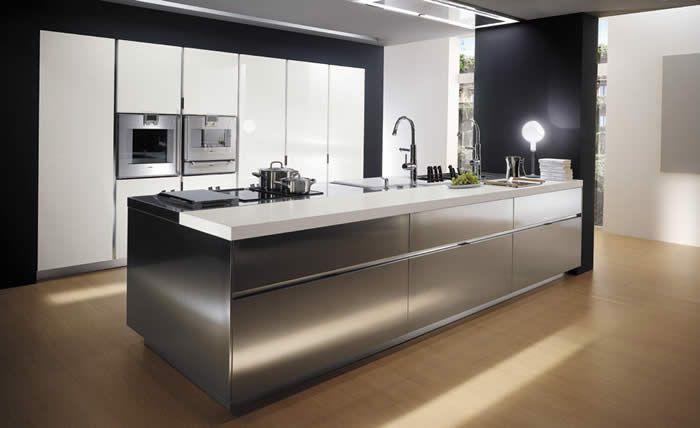 Showroomkeukens alle showroomkeuken aanbiedingen uit - Cocinas con frigorifico americano ...