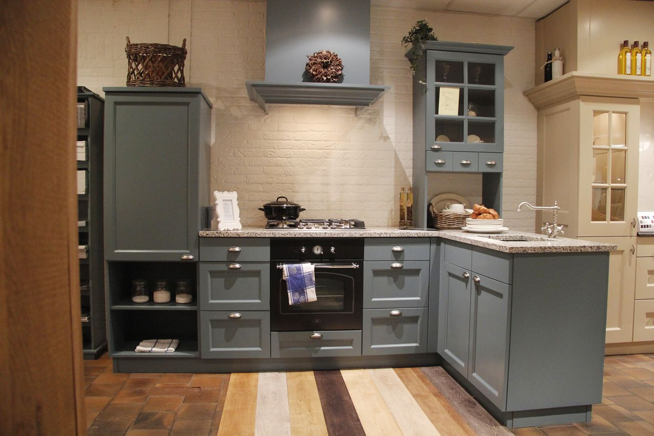 Blauwe Landelijke Keuken : Landelijke Keuken Hoekkeuken HD Walls Find Wallpapers