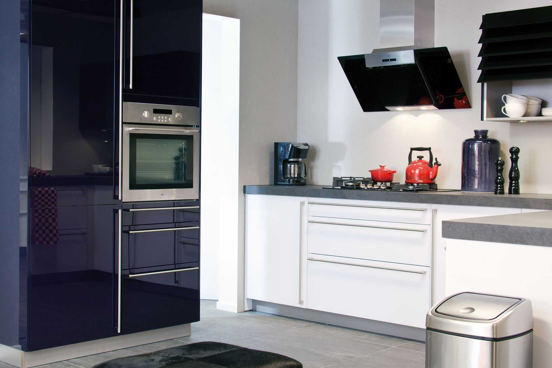 Moderne Keuken Met Glazen Fronten 48769 Pictures
