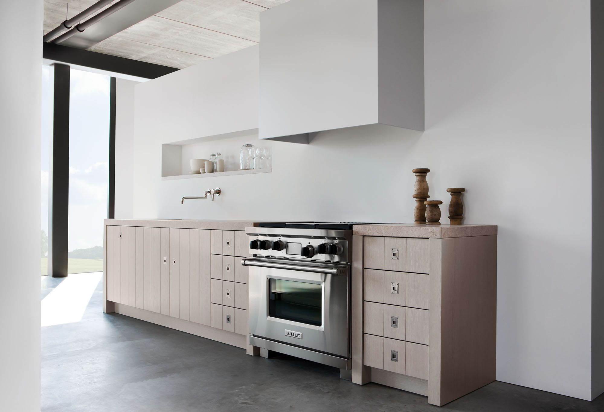Bekend keuken rechte opstelling meter as belbin
