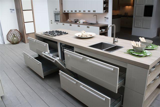 Rechte keuken met kastwand ~ consenza for .