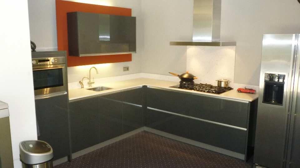 Keuken Antraciet Hoogglans : zeer lage keuken prijzen Antraciet acryl metalic hoogglans [51365