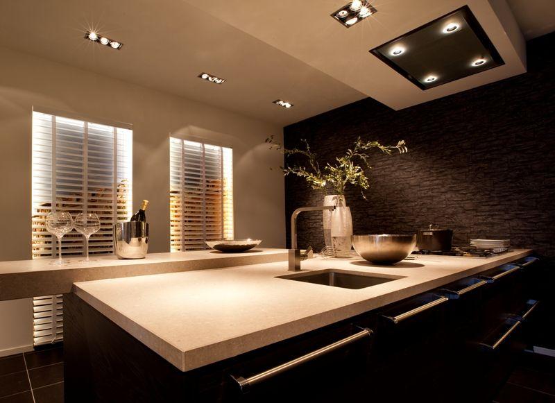 Luxe showroomkeukens