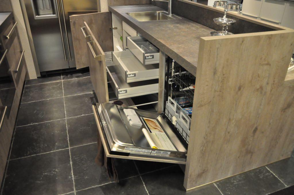 Parallel Keuken Showroom : keukens voor zeer lage keuken prijzen Eiken-look parallelle Keller