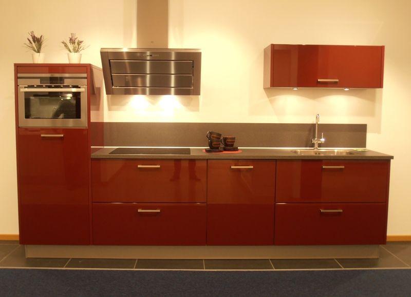 Showroomkeukens alle showroomkeuken aanbiedingen uit nederland keukens voor zeer lage keuken - Keuken met rode baksteen ...