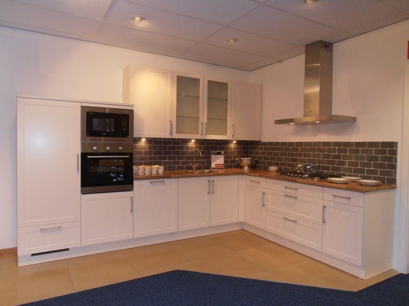Keuken Kleur Magnolia : lage keuken prijzen Keuken met kaderdeur in kleur magnolia [50634