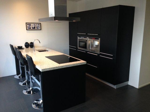 Keuken Zwart Mat: Over italiaanse design keukens e d aluminium ...