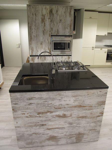 Compacte Keuken Met Eiland : Nederland keukens voor zeer lage keuken prijzen Painted Oak [54063