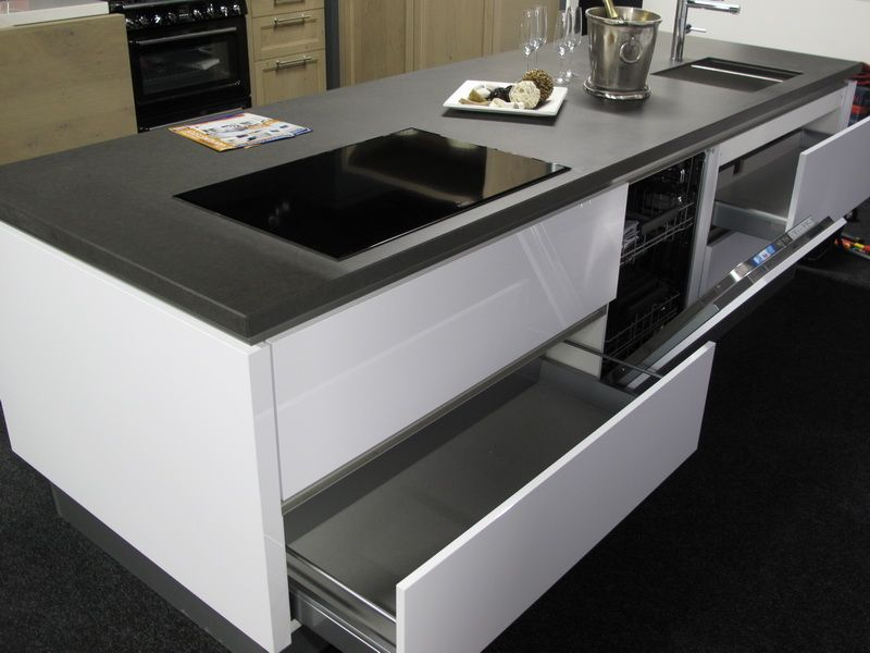 Keuken Hoogglans Wit Greeploos : keukens voor zeer lage keuken prijzen Greeploze hoogglans gelakte