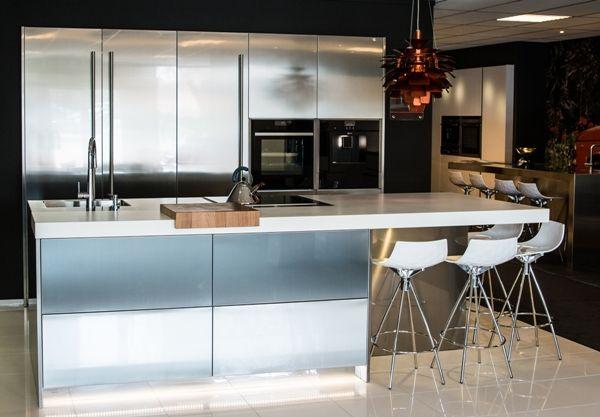 Inox Design Keukens : Showroomkeukens alle showroomkeuken aanbiedingen uit nederland