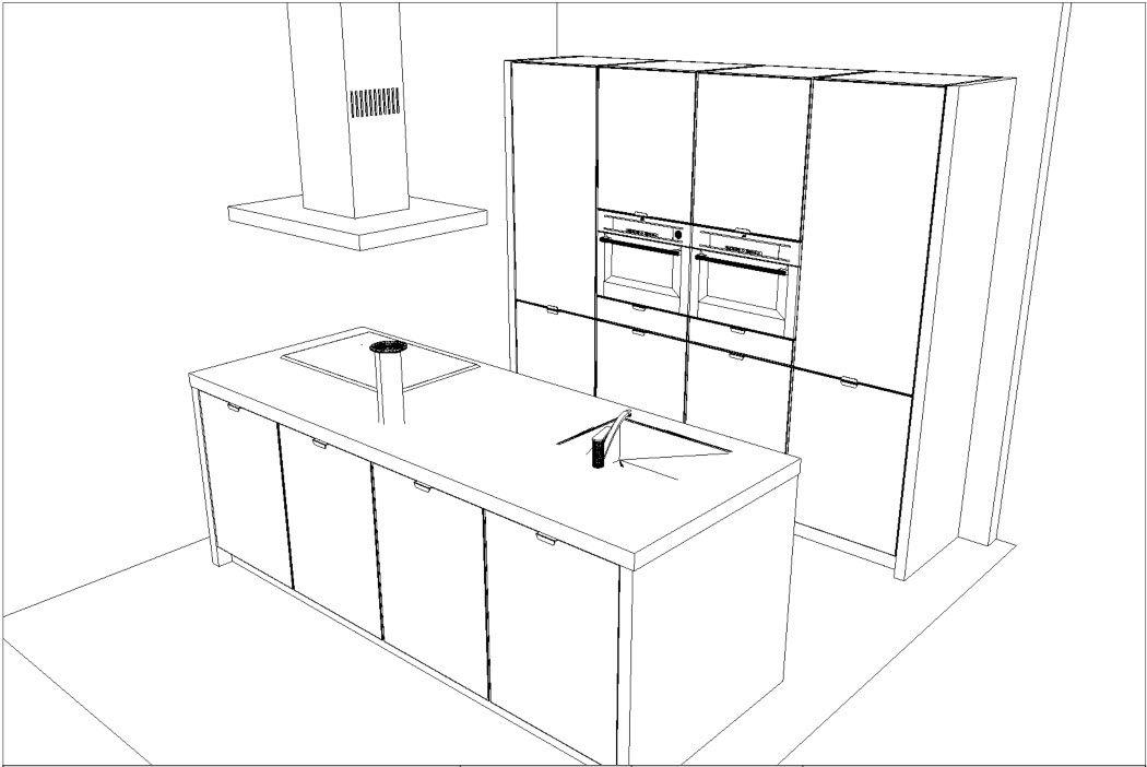Keukenindeling Eiland : Afmetingen Keuken Met Eiland Design eiland keuken