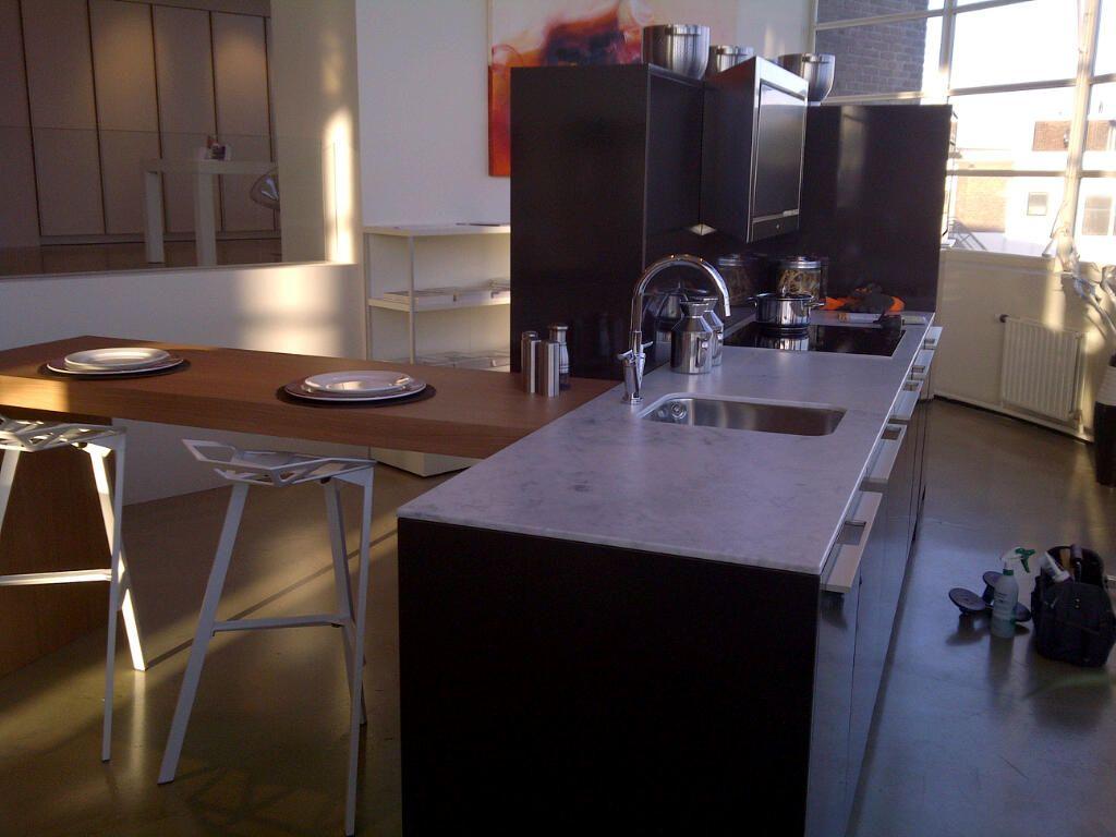 Unieke SieMatic loft eiland keuken
