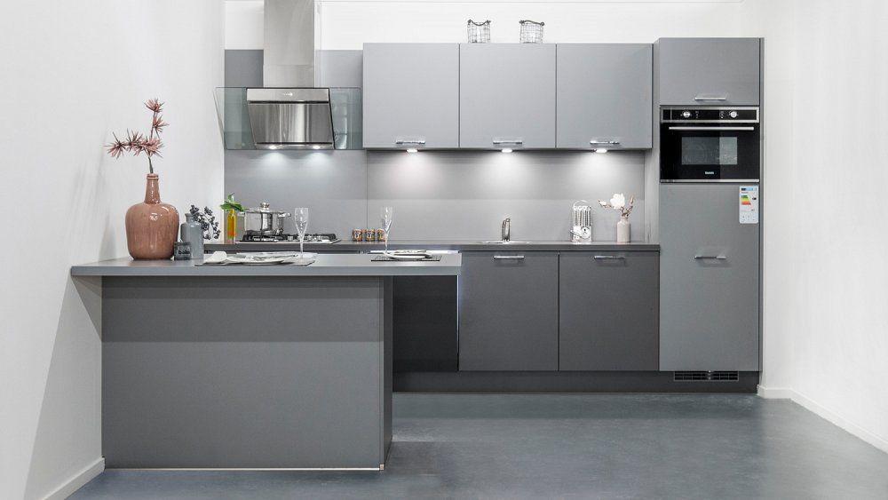 Moderne Keuken Grijs : Showroomkeukens alle showroomkeuken aanbiedingen uit nederland