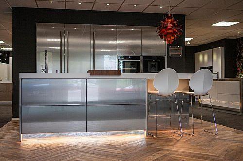 Meer informatie aanvragen over Exclusief  design keuken inox (100)